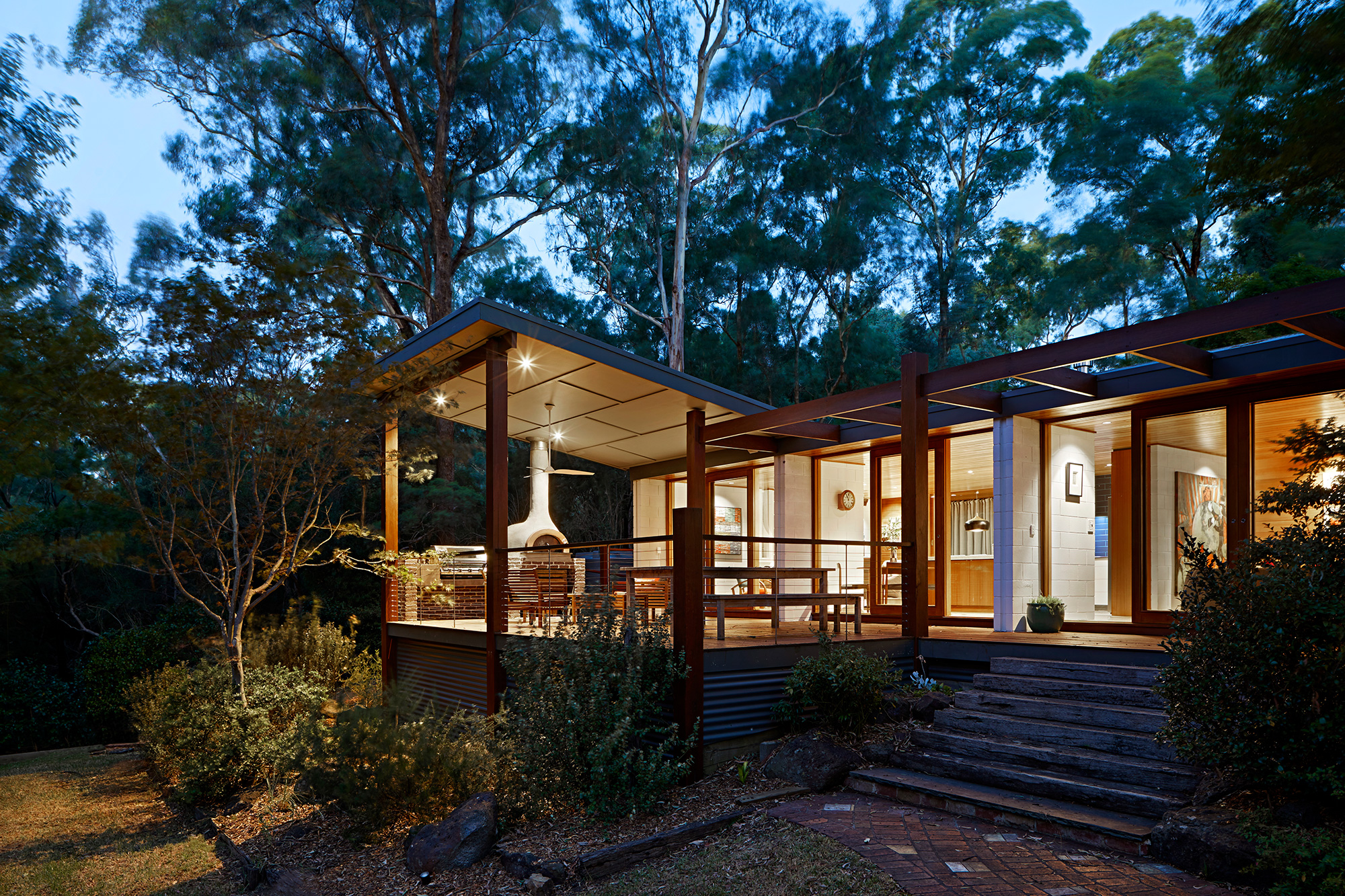 North Warrandyte River House